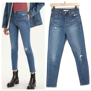 Levi's Wedgie Fit Skinny Jeans Ankle 26